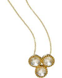 Sethi Couture Diamond Pendant Necklace - Yellow