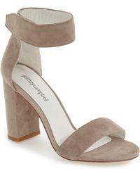 Jeffrey Campbell Lindsay Ankle Strap Sandal - Multicolour