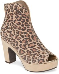 Cordani Tabbi Peep Toe Bootie - Brown