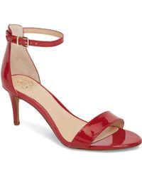 Vince Camuto Sebatini Sandal - Red