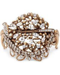 Badgley Mischka - Crystal Bracelet - Lyst
