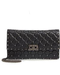 Valentino - Rockstud Matelasse Quilted Leather Shoulder Bag - - Lyst
