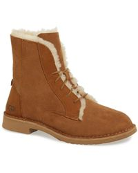60f808a72ca Ugg Quincy - Women's Ugg Quincy Boots - Lyst