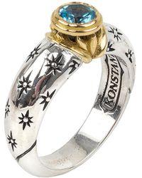 Konstantino Tiger's Eye Ring - Metallic