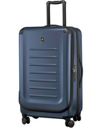 Victorinox Victorinox Swiss Army Spectra 2.0 30 Inch Hard Sided Rolling Travel Suitcase - Blue