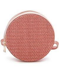 Sole Society - Apryl Circle Crossbody Bag - Coral - Lyst