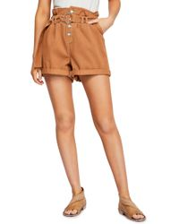 eefbb66d7bb9d Joe's Jeans Smith High Rise Cutoff Shorts In Cindy in Blue - Lyst