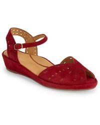L'amour Des Pieds - 'brenn' Ankle Strap Sandal - Lyst