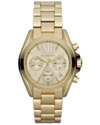 Michael Kors | Michael Kors 'bradshaw - Mini' Chronograph Bracelet Watch | Lyst