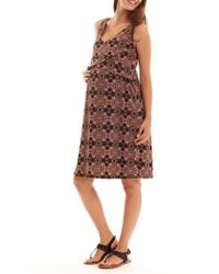 Everly Grey - Pia Print Maternity/nursing Dress - Lyst