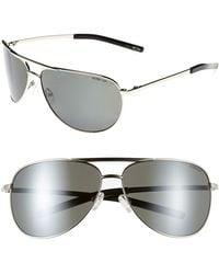 2dc9232e730 Lyst - Smith Optics  serpico Slim  60mm Polarized Aviator Sunglasses ...