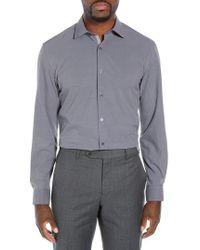 W.r.k. - Trim Fit Stretch Houndstooth Dress Shirt - Lyst