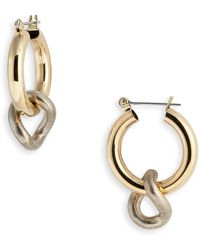 Laura Lombardi Onda Charm Earrings - Multicolor