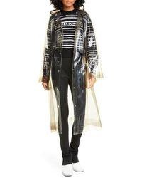 Proenza Schouler Hooded Transparent Raincoat - Multicolor