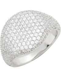 Nordstrom - Pave Spheres Signet Ring - Lyst