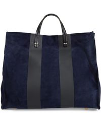 Clare V. - Suede Striped Totebag - Lyst