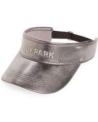 Ivy Park | Metallic Visor - Metallic | Lyst