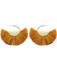 Panacea - Fringe Fan Earrings - Lyst