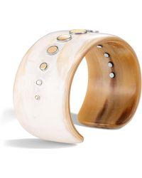 John Hardy - Dot Horn Cuff Bracelet - Lyst