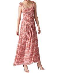 Whistles - Bali Print Maxi Dress - Lyst