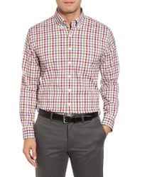 Bobby Jones | Autumn Check Easy Care Sport Shirt | Lyst