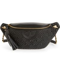Tory Burch - Fleming Quilted Leather Belt Bag - - Lyst
