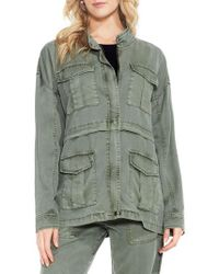 Two By Vince Camuto - Twill Cargo Jacket - Lyst