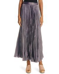 Rachel Comey Oates Pleated Maxi Skirt - Black