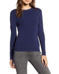 Chelsea28 - Side Tie Sweater - Lyst