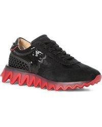 Christian Louboutin Loubishark Chunky Sneaker - Black
