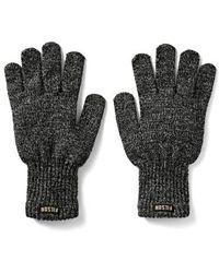Filson - Wool Blend Knit Gloves - Lyst