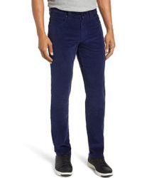 Bugatchi - Slim Fit Corduroy Jeans - Lyst