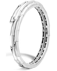 John Hardy - Bamboo Small Double Coil Bracelet - Lyst