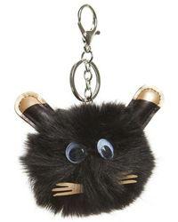 TOPSHOP - Cat Key Ring - Lyst