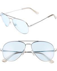 2fd2f4c9376 Lyst - Nordstrom 1901 Burke 53mm Round Sunglasses for Men