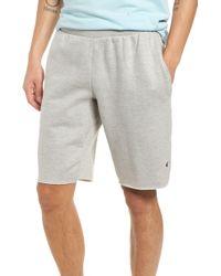 Champion Reverse Weave(r) Cut Off Shorts - Gray