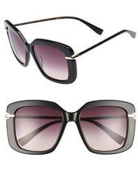 Derek Lam - Anita 55mm Square Sunglasses - Lyst