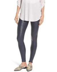 Spanx - Spanx Faux Leather Leggings - Lyst