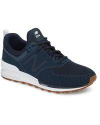 New Balance - 574 Engineered Mesh Sneaker - Lyst