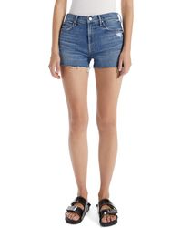 Mother - The Dutchie Cutoff Shorts - Lyst
