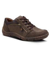 Spring Step Elva Water Resistant Sneaker - Brown