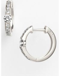 Bony Levy - Linea Diamond Huggie Earrings (nordstrom Exclusive) - Lyst
