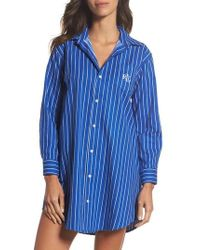 Lauren by Ralph Lauren - Sleep Shirt - Lyst