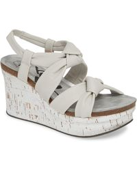 Otbt - Far Side Knotted Wedge Sandal - Lyst