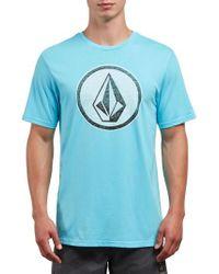 Volcom - Classic Stone Graphic T-shirt - Lyst