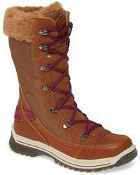 Santana Canada Micah Faux Fur Waterproof Boot - Brown