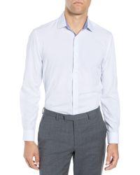 W.r.k. - Slim Fit Performance Stretch Dot Dress Shirt - Lyst