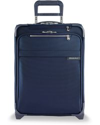 Briggs & Riley International Carry-on Expandable Wide-body Upright - Blue