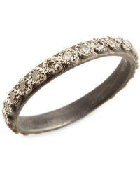 Armenta New World Diamond Ring - Metallic
