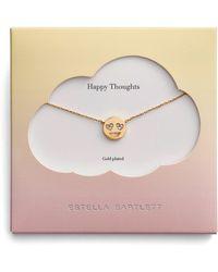 Estella Bartlett - Happy Thoughts Emoji Necklace - Lyst